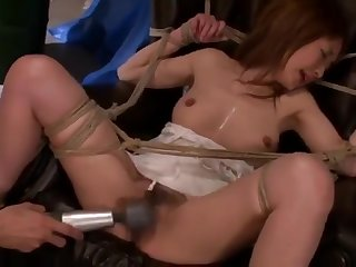 JBD-158 Schoolgirl Snake Tied Gang Rumble 13
