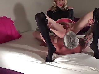 CJ Coxx ~ Sucking Cock and Facesitting