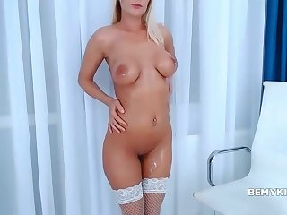Grouchy Shaved Tramp Amazing Webcam Step
