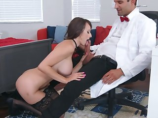 Sexual allow convenient work for busty Lexi Luna