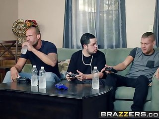 Brazzers - Mommy Got Boobs -  My Friends Fucked My Mom instalment
