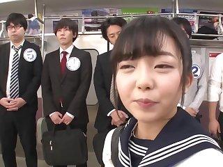 Asian teen girl weird gangbang