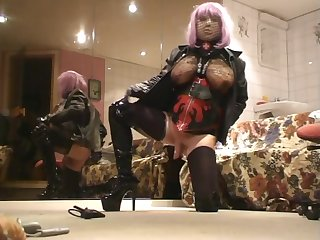 Exotic sex movie transvestite Solo Trans whip , watch hose down