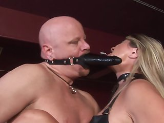Blond Mistress Nicholette Enjoys Domin - 1080p
