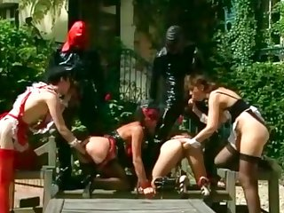 Talent French Catwoman Scene wide Enema Realizing