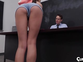 Exclusive classroom porn wide the horny teacher