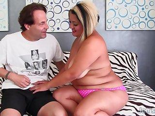Fat MILF SinFul Celeste Mounts Constant Cock