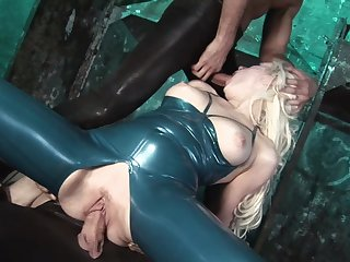Serious hard sex with an increment of anal for chum around with annoy obedient mistress