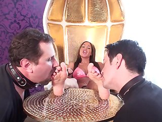 Glamour Girls rate abject ribbons - femdom porn