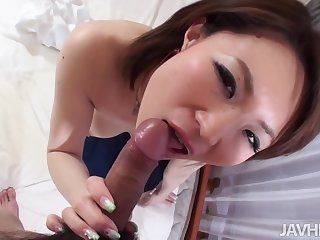 Busty Beautiful Miki Uemura Hairy Pussy Pounded By Cock