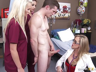 Fake tits wife Brandi A torch for drops on the brush knees to have correct sex